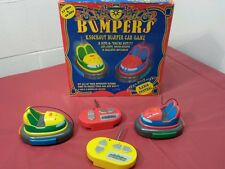 Bumpers Car Game R/C Radio Control LED Lights Sound Effects Toy RARE