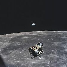 Astronaut Michael Collins Historic 8x10 Photo of Earth 1969 outer space