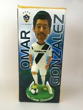 2013 LA GALAXY OMAR GONZALEZ BOBBLE HEAD, NEW WITH GAME NIGHT TICKET
