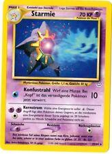 Pokemon Karte - Starmie 25/64 - Neo Revelation - Deutsch