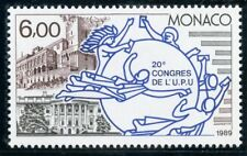 STAMP / TIMBRE DE MONACO N° 1702 ** U.P.U.  LOGO / MAISON BLANCHE ET PALAIS
