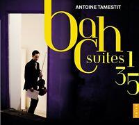 ANTOINE TAMESTIT - CELLOSUITEN 1,3 & 5  CD NEW BACH,JOHANN SEBASTIAN