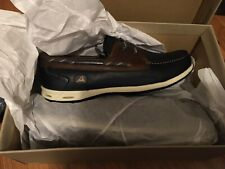 Mens Clarks Orson Harbour Lace Up Smart Leather Boat Shoes Size Uk 7.5 Us 8.5