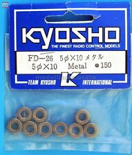 Kyosho FD-26 Boccole 5x10 mm (10) Metal Bushings modellismo