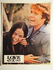 Cinéma Amour Photo d'Exploitation LOVE STORY - Ryan O'NEAL et Ali McGraw - TBE