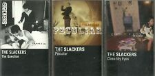SLACKERS-QUESTION TAPE/PECULIAR TAPE/CLOSE MY EYES TAPE(HELLCAT)