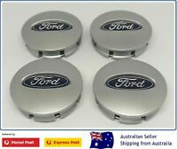FORD Centre Caps x4 AU BF FG FGX EF EL Set FALCON TERRITORY BRAND NEW WHEEL CAPS
