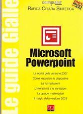 MICROSOFT POWERPOINT SPREA MEDIA EDIZIONI GUIDE  COMPUTER (SA889)