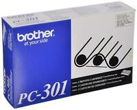 New GENUINE Brother PC-301 Printer Cartridge  - Free Shipping!