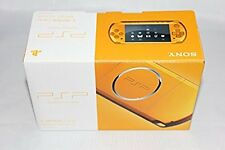 PSP Playstation Portable Bright Yellow PSP - 3000 BY japan game SONY F/S
