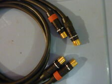 +-Rca Cable With Neutrik Profi and Connex Pure silver wire 35  inches