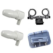2x Alps Single LNB HD-Ready + Maximum DiSEqC 2/1 + Triax Multifeedhalter 2 fach