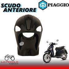 SCUDO ANTERIORE NERO VERNICIATO PIAGGIO LIBERTY 50 / 125 / 200 2T / 4T DAL 2004