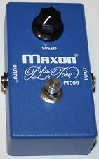 MAXON PT999 PHASE TONE Effect Pedal, New, Free Shipping, Maxon Authorized Dealer