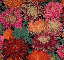 JAPANESE CHRYSANTHEMUM by Philip Jacobs~ Kaffe Fassett~ Multi ~Fabric~1/2 yard