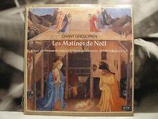 CHANT GREGORIEN - LES MATINES DE NOEL - DOM JOSEPH GAJARD LP SEALED DECCA