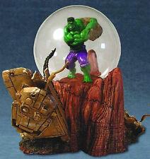 Incredible Hulk Marvel Comics Movie Motion Globe Statue New 2004 Possible Defect