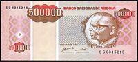 1995 Angola 500,000 Kwanzas Reajustados Banknote * UNC * P-140 *