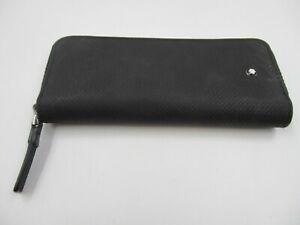 Montblanc Black Zipped Pen Case Pouch (C853)