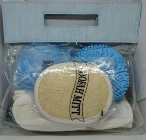 Light Blue Shower Gift Set, 5 Items