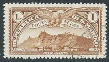 1931 SAN MARINO USATO POSTA AEREA VEDUTA 1 LIRA - M15-3