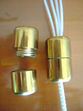 Roman and Venetian Blinds Brass Cord Connector Joiner BRAND DIY Blind Parts