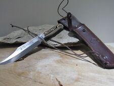 PUMA BOWIE COLTELLO COLTELLO DA CACCIA HUNTING KNIFE Solingen interamente a mano n. 116396