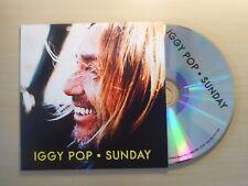 IGGY POP : SUNDAY (3 VERSIONS) *PROMO* [ CD SINGLE ]