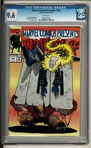 Marvel Comics Presents #100 (1992) CGC 9.6 WHITE! Wolverine! Ghost Rider! Doom!!
