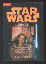 Star Wars Episode II: Angriff der Klonkrieger – R. A. Salvatore  Roman Science-F