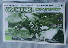 ZOIDS #045 PTERAMANDER ACTION FIGURE INSTRUCTION BOOKLET