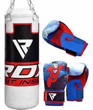 RDX Sac de Frappe Enfant Rempli Junior Punching Bag Boxe Gants Chaine Kickboxing