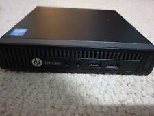 HP ELITEDESK 800 G1 MINI, PENTIUM, 4 GB, 500 GB HDD, WIN 10