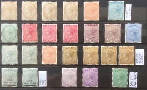 Bermuda 1893-1904. Super Selection Of Early Mint Victoria. Cv400+ In 2017