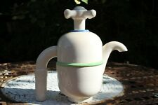 Rare Lustre Roger Michell Novelty Tap Hand-painted Teapot 1980s