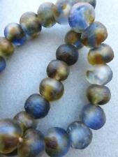 Glass Beads [67981] Blue & Gold