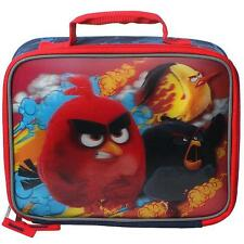 ANGRY BIRDS Lunch Bag Kit FX-3D/Lenticular RED New