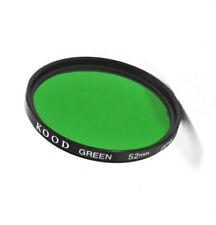 Kood 52mm Green Glass Black & White Film Contrast Filter Made in Japan 52mm