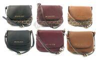 Michael Kors Bedford Leather Small Flap Crossbody Bag Handbag