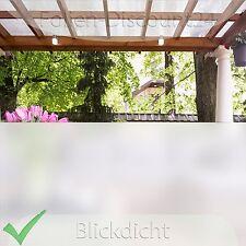 6,33 €/m²)  Sichtschutzfolie 4meter x 60cm Folie Fensterfolie Sonnenschutz TiP!