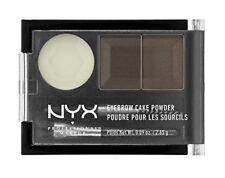 Lot of 3pcs Nyx Cake Eyebrow Powder / - Ecp02 - Dark Brown/Brown New