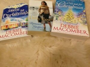 3 Good Book , 2 Christmas by Debbie Macomber and 1 by Dilly Court