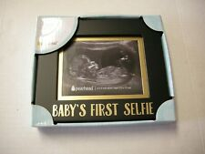 """Sonogram Frame, """"Baby's First Selfie"""" By Pearhead, 6.5"""" x 5.5"""", Brand New"""