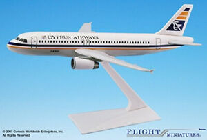 Flight Miniatures Cyprus Airways Airbus A320-200 1:200 Scale. Free Delivery