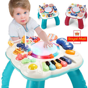 Baby Play Learn Activity Table Toddler Early Education Boys Girls Musical Toy UK