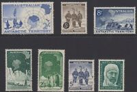 1957 to 1961 AAT Australia Post - Antarctica - mixed collection - SG1 to SG7