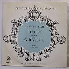 BACH Pieces pour orgue MARIE CLAIRE ALAIN DP 32-I