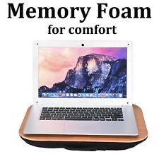 Portable Lap Desk Laptop Notebook Computer Tray Car Chair Bed Wood Reading Table