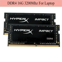 For Kingston HyperX Impact 16GB 32GB 64G DDR4 3200MHz PC4-25600 CL20 Laptop RAM