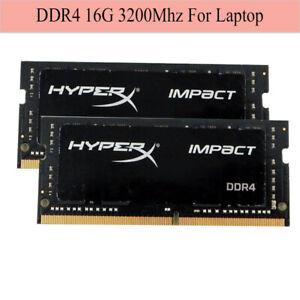 For Kingston HyperX Impact 16GB 32GB 64G DDR4 3200MHz PC4-25600 CL20 Laptop RAM